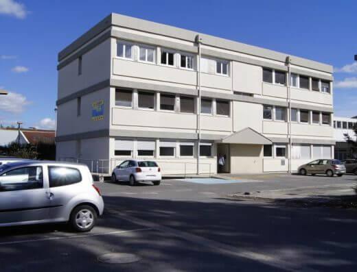 Location bureaux Nogent - vue extérieure bâtiment 148 m2