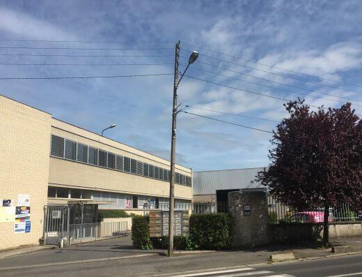 Senlis - Location bureaux 906m² - vue de la rue