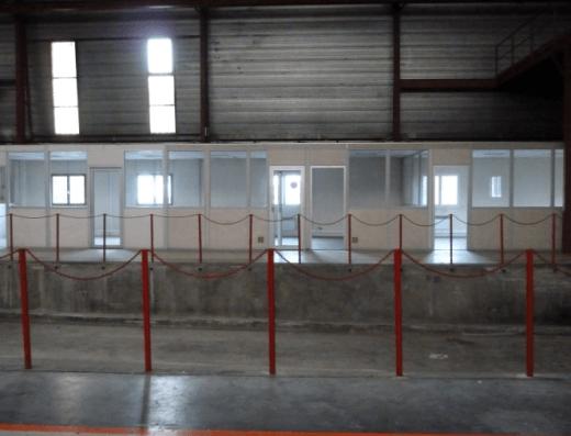 Senlis - Location entrepôt 1664 m2 Beauval - quais et bureaux