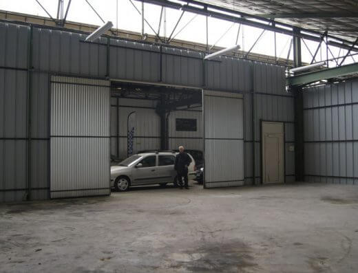 Senlis - entrepôt 290m² - Lot 320
